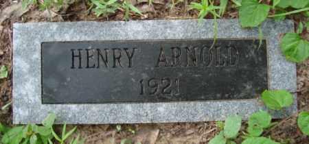 ARNOLD, HENRY - Miller County, Arkansas | HENRY ARNOLD - Arkansas Gravestone Photos