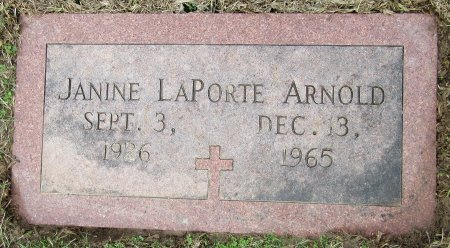 ARNOLD, JANINE - Miller County, Arkansas | JANINE ARNOLD - Arkansas Gravestone Photos