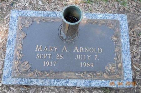 ARNOLD, MARY A. - Miller County, Arkansas   MARY A. ARNOLD - Arkansas Gravestone Photos