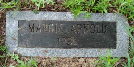 ARNOLD, MARGIE - Miller County, Arkansas   MARGIE ARNOLD - Arkansas Gravestone Photos