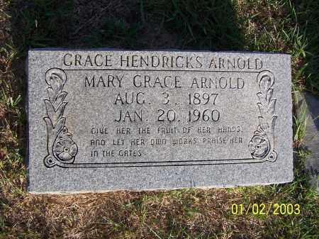 ARNOLD, MARY GRACE - Miller County, Arkansas | MARY GRACE ARNOLD - Arkansas Gravestone Photos