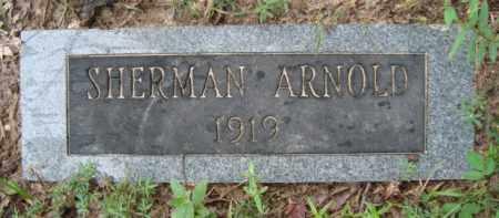 ARNOLD, SHERMAN - Miller County, Arkansas | SHERMAN ARNOLD - Arkansas Gravestone Photos