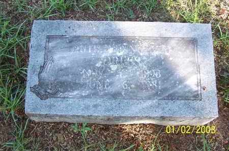 BEDINGFIELD, RUTH - Miller County, Arkansas | RUTH BEDINGFIELD - Arkansas Gravestone Photos