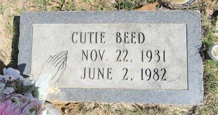 BEED, CUTIE - Miller County, Arkansas | CUTIE BEED - Arkansas Gravestone Photos