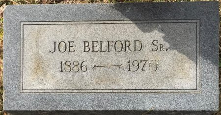 BELFORD, SR, JOE - Miller County, Arkansas | JOE BELFORD, SR - Arkansas Gravestone Photos