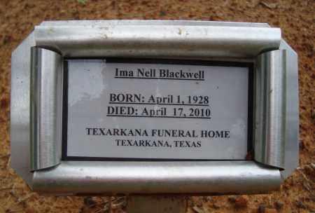 BLACKWELL, IMA NELL - Miller County, Arkansas | IMA NELL BLACKWELL - Arkansas Gravestone Photos