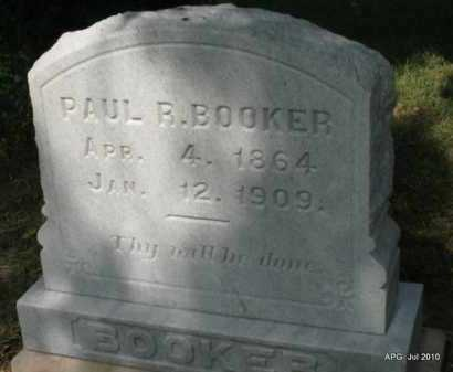 BOOKER, PAUL R - Miller County, Arkansas | PAUL R BOOKER - Arkansas Gravestone Photos