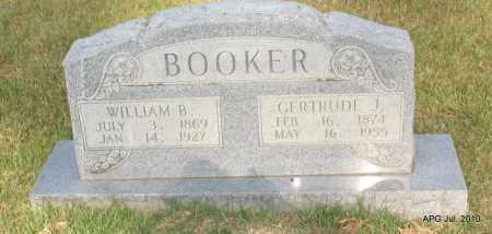 BOOKER, GERTRUDE - Miller County, Arkansas   GERTRUDE BOOKER - Arkansas Gravestone Photos