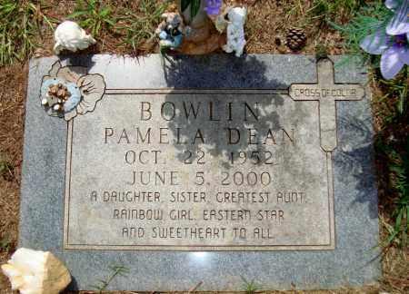 BOWLIN, PAMELA DEAN - Miller County, Arkansas | PAMELA DEAN BOWLIN - Arkansas Gravestone Photos