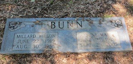 BUNN, JUNE MAE - Miller County, Arkansas   JUNE MAE BUNN - Arkansas Gravestone Photos