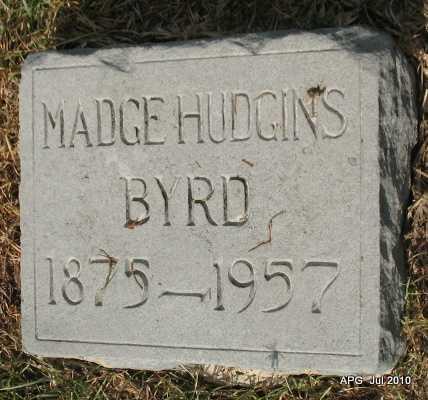 BYRD, MADGE - Miller County, Arkansas | MADGE BYRD - Arkansas Gravestone Photos