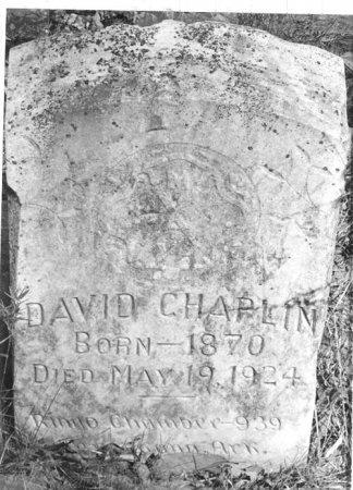 CHAPLIN, DAVID - Miller County, Arkansas   DAVID CHAPLIN - Arkansas Gravestone Photos