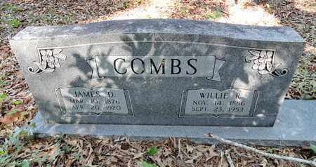 COMBS, WILLIE R. - Miller County, Arkansas | WILLIE R. COMBS - Arkansas Gravestone Photos