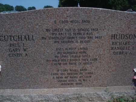 CUTCHALL, JANE ETHEL  (BACKVIEW) - Miller County, Arkansas   JANE ETHEL  (BACKVIEW) CUTCHALL - Arkansas Gravestone Photos