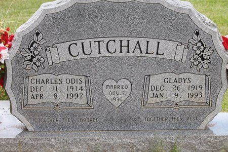 CUTCHALL, GLADYS - Miller County, Arkansas | GLADYS CUTCHALL - Arkansas Gravestone Photos