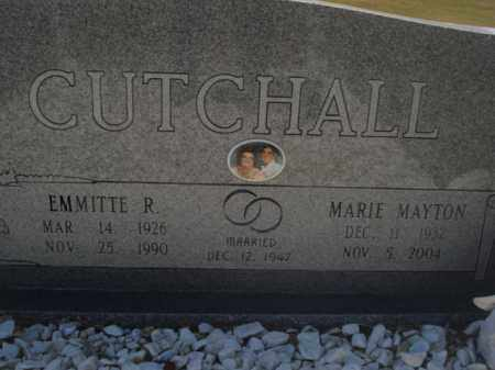 CUTCHALL, EMMITTE R - Miller County, Arkansas | EMMITTE R CUTCHALL - Arkansas Gravestone Photos