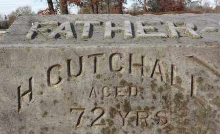 CUTCHALL, H (CLOSEUP) - Miller County, Arkansas | H (CLOSEUP) CUTCHALL - Arkansas Gravestone Photos