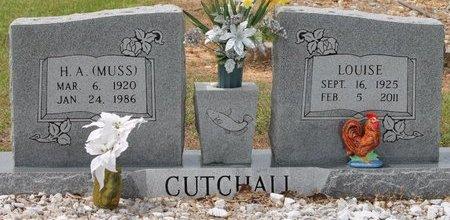CUTCHALL, H. A.  (MUSS) - Miller County, Arkansas | H. A.  (MUSS) CUTCHALL - Arkansas Gravestone Photos
