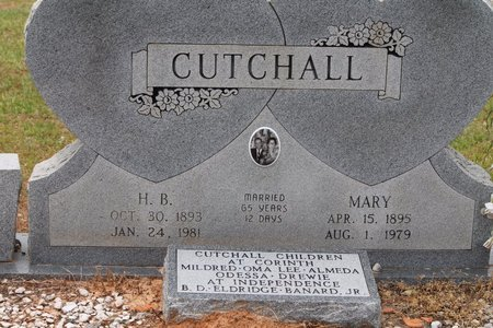 CUTCHALL, MARY - Miller County, Arkansas | MARY CUTCHALL - Arkansas Gravestone Photos