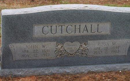 CUTCHALL, JOHN W. - Miller County, Arkansas | JOHN W. CUTCHALL - Arkansas Gravestone Photos