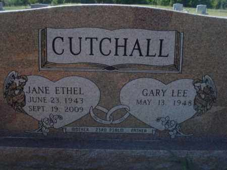 CUTCHALL, JANE ETHEL - Miller County, Arkansas | JANE ETHEL CUTCHALL - Arkansas Gravestone Photos