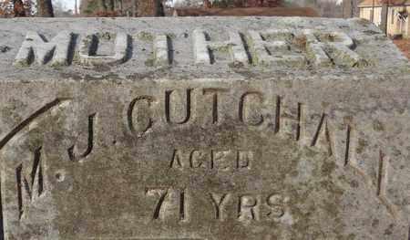 CUTCHALL, M J (CLOSEUP) - Miller County, Arkansas | M J (CLOSEUP) CUTCHALL - Arkansas Gravestone Photos