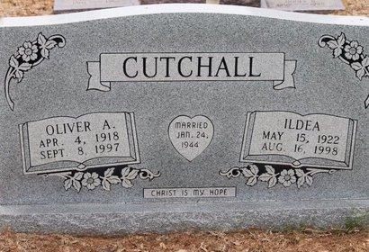 CUTCHALL, ILDEA - Miller County, Arkansas | ILDEA CUTCHALL - Arkansas Gravestone Photos