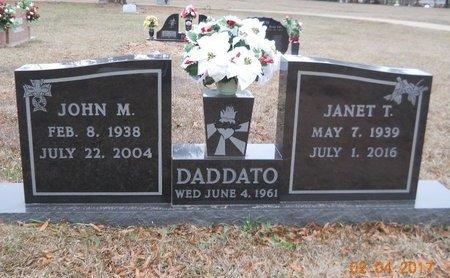 DADDATO, JANET T - Miller County, Arkansas | JANET T DADDATO - Arkansas Gravestone Photos