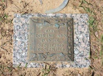 DANIEL, DORINE ANN - Miller County, Arkansas   DORINE ANN DANIEL - Arkansas Gravestone Photos