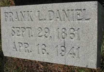 DANIEL, FRANK L - Miller County, Arkansas | FRANK L DANIEL - Arkansas Gravestone Photos