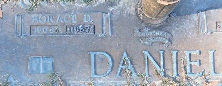 DANIEL, HORACE D. (CLOSEUP) - Miller County, Arkansas | HORACE D. (CLOSEUP) DANIEL - Arkansas Gravestone Photos