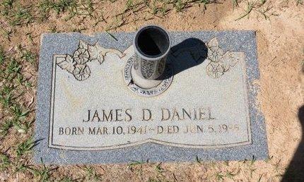 DANIEL, JAMES D. - Miller County, Arkansas | JAMES D. DANIEL - Arkansas Gravestone Photos