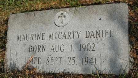 DANIEL, MAURINE - Miller County, Arkansas | MAURINE DANIEL - Arkansas Gravestone Photos