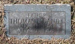 DANIEL, THOMAS F - Miller County, Arkansas   THOMAS F DANIEL - Arkansas Gravestone Photos