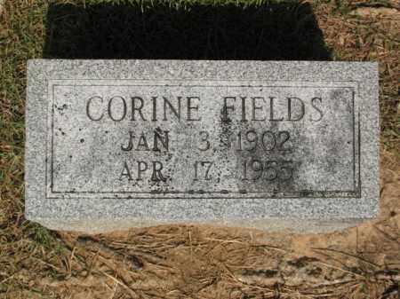 FIELDS, CORINE - Miller County, Arkansas | CORINE FIELDS - Arkansas Gravestone Photos