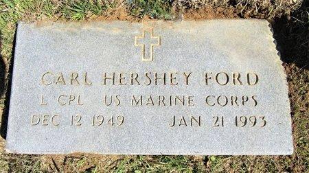 FORD (VETERAN), CARL HERSHEY - Miller County, Arkansas | CARL HERSHEY FORD (VETERAN) - Arkansas Gravestone Photos
