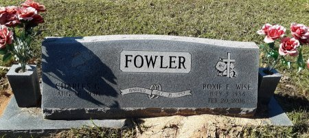 WISE FOWLER, ROXIE E - Miller County, Arkansas   ROXIE E WISE FOWLER - Arkansas Gravestone Photos