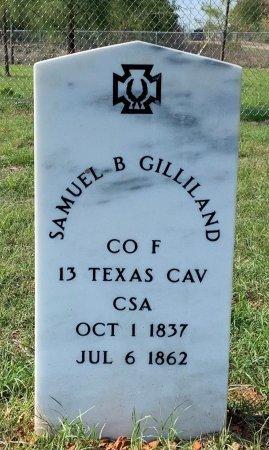 GILLILAND (VETERAN CSA), SAMUEL B - Miller County, Arkansas | SAMUEL B GILLILAND (VETERAN CSA) - Arkansas Gravestone Photos