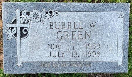 GREEN, BURREL W - Miller County, Arkansas   BURREL W GREEN - Arkansas Gravestone Photos
