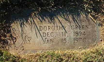 GREEN, DOROTHY - Miller County, Arkansas | DOROTHY GREEN - Arkansas Gravestone Photos
