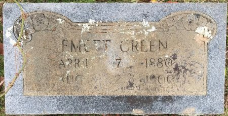 GREEN, EMETT - Miller County, Arkansas | EMETT GREEN - Arkansas Gravestone Photos