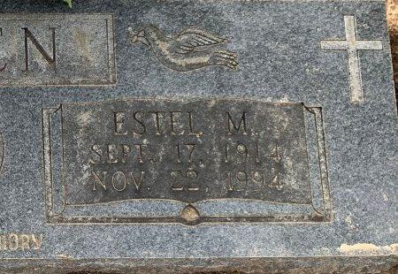 GREEN, ESTEL M (CLOSE UP) - Miller County, Arkansas | ESTEL M (CLOSE UP) GREEN - Arkansas Gravestone Photos