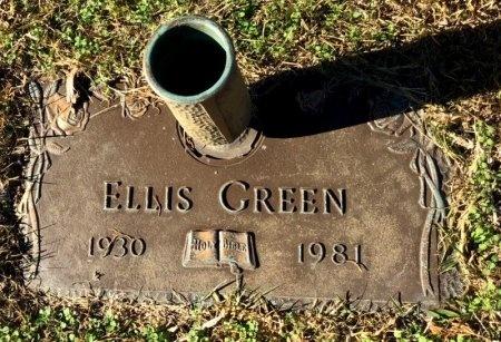 GREEN, ELLIS - Miller County, Arkansas | ELLIS GREEN - Arkansas Gravestone Photos