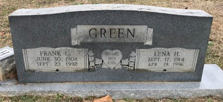 GREEN, FRANK G - Miller County, Arkansas | FRANK G GREEN - Arkansas Gravestone Photos