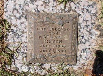 GREEN, NATHAN C. - Miller County, Arkansas   NATHAN C. GREEN - Arkansas Gravestone Photos