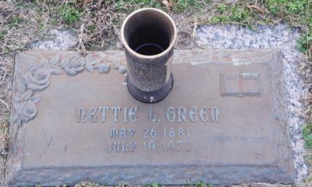 GREEN, NETTIE L - Miller County, Arkansas | NETTIE L GREEN - Arkansas Gravestone Photos