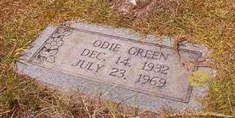 GREEN, ODIE - Miller County, Arkansas | ODIE GREEN - Arkansas Gravestone Photos