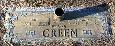 GREEN, PAUL - Miller County, Arkansas | PAUL GREEN - Arkansas Gravestone Photos