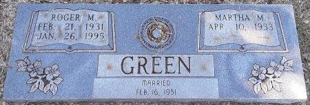 GREEN, ROGER M  - Miller County, Arkansas | ROGER M  GREEN - Arkansas Gravestone Photos
