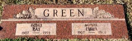 GREEN, EMMA - Miller County, Arkansas | EMMA GREEN - Arkansas Gravestone Photos
